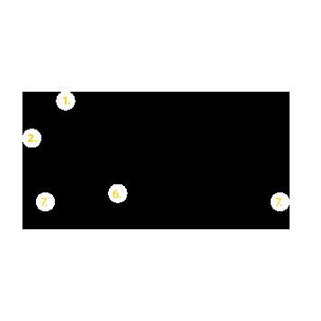 Esquema y despiece estructura monopanel Tonka