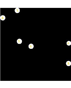 Esquema y despiece de estructura Tonka fijación vertical